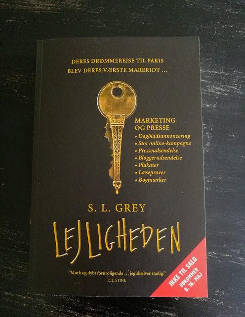 """""""Lejligheden"""" af S.L. Grey"""