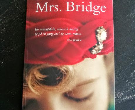 """""""Mrs. Bridge"""" af Evan S. Connell"""