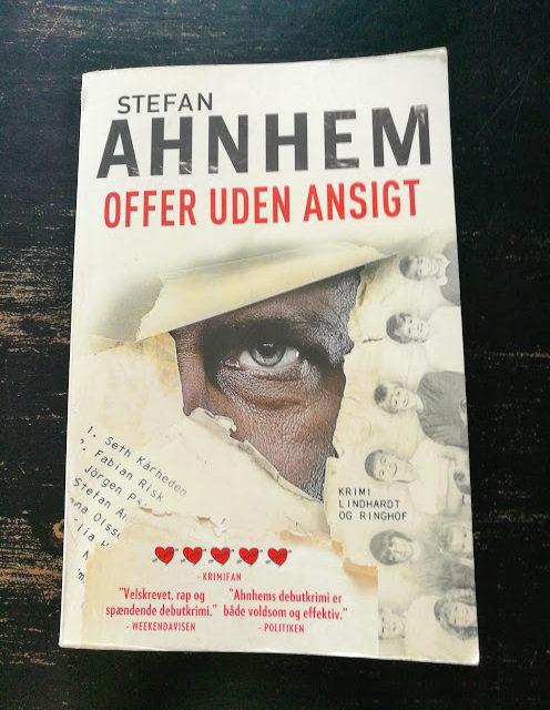 """""""Offer uden ansigt"""" af Stefan Ahnhem"""