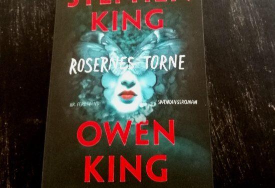 """""""Rosernes torne"""" af Stephen King og Owen King"""