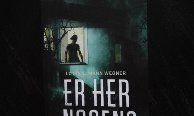 """""""Er her nogen?"""" af Lotte Elmann Wegner"""