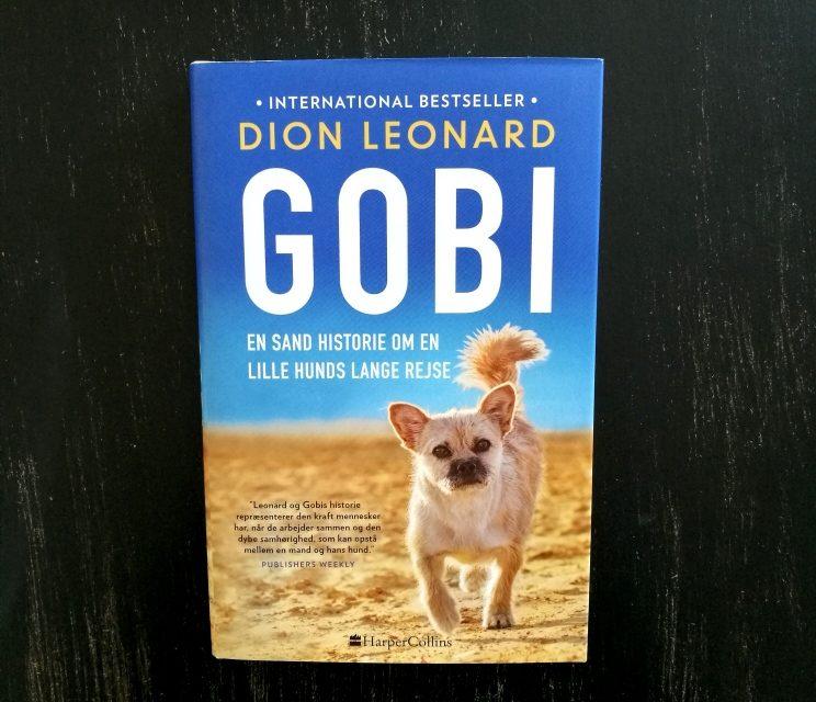 """""""Gobi – en sand historie om en lille hunds lange rejse"""" af Dion Leonard"""