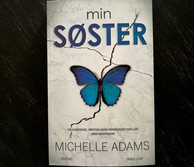 """""""Min søster"""" af Michelle Adams"""