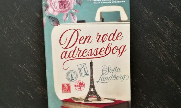 """""""Den røde adressebog"""" af Sofia Lundberg"""
