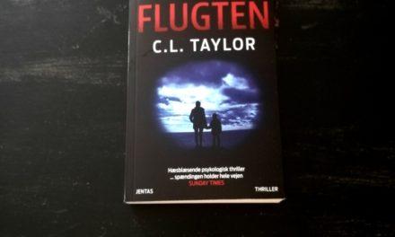 """""""Flugten"""" af C.L. Taylor"""