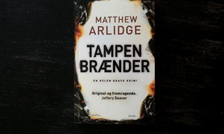 """""""Tampen brænder"""" af Matthew Arlidge"""