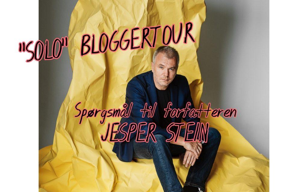 SOLO-bloggertour: Spørgsmål til forfatteren: Jesper Stein