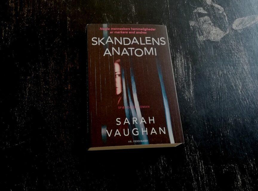 """Skandalens anatomi"" af Sarah Vaughan"