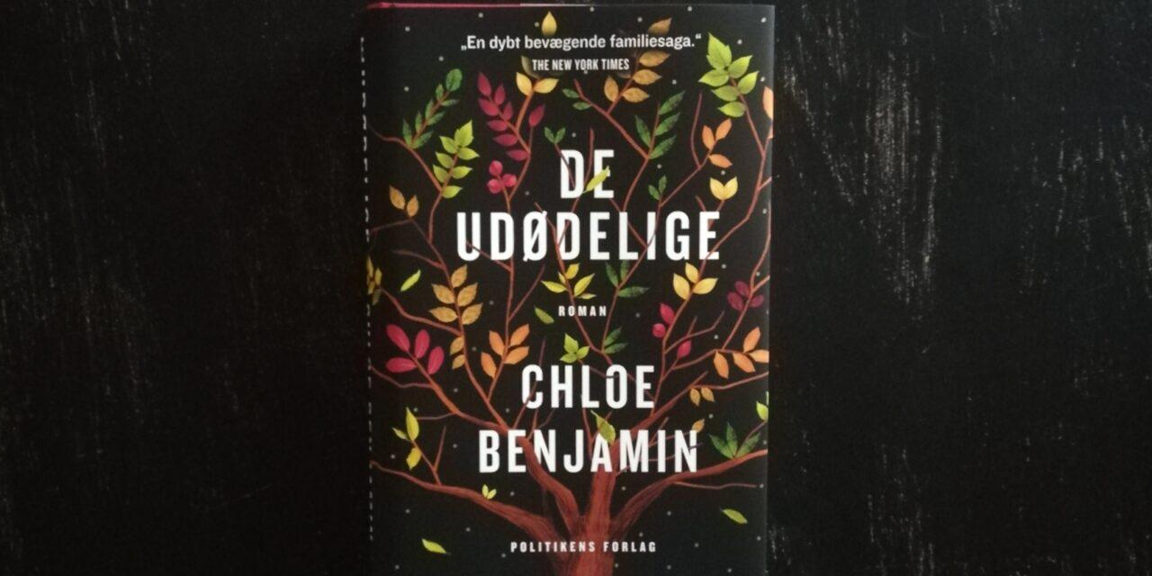 """""""De udødelige"""" af Chloe Benjamin"""