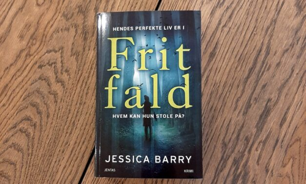 """""""Frit fald"""" af Jessica Barry"""