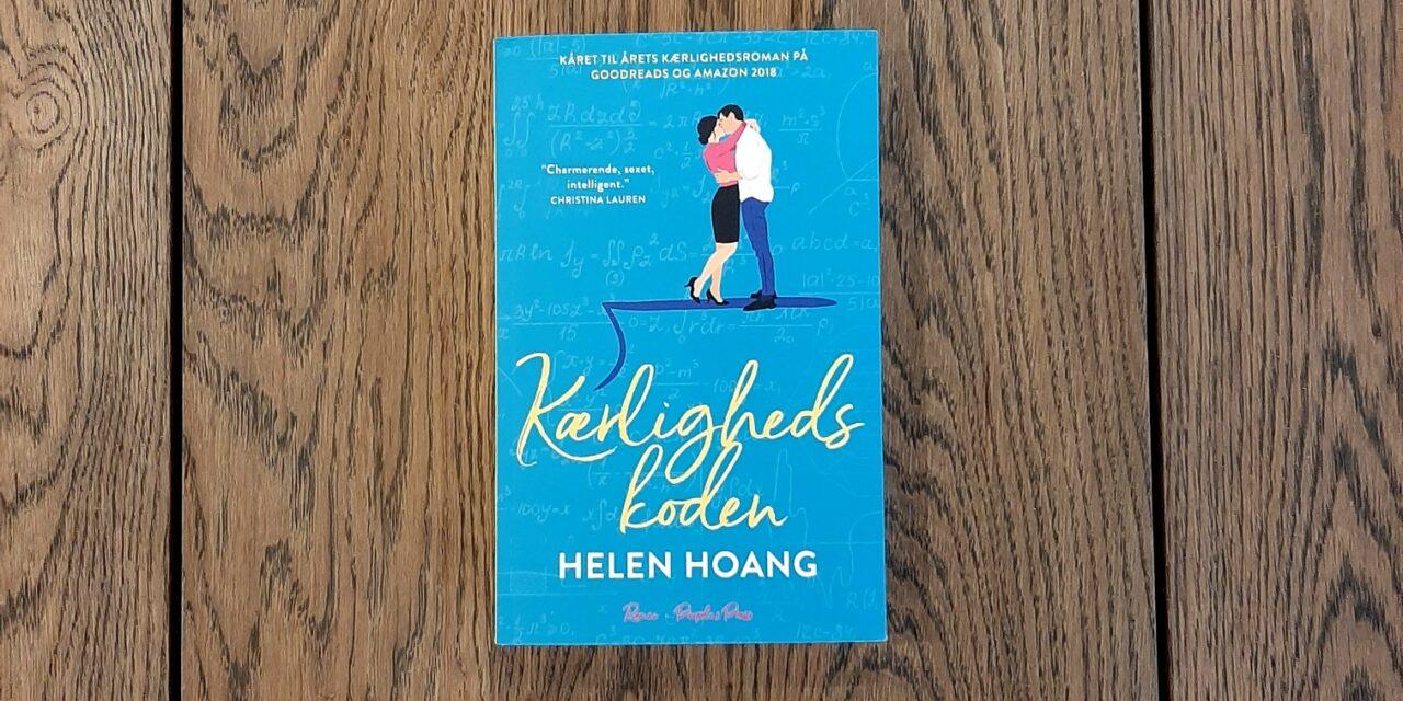 """""""Kærlighedskoden"""" af Helen Hoang"""