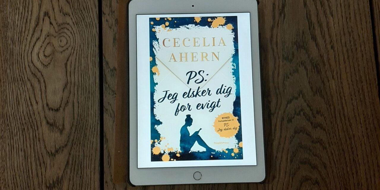 """""""P.S. Jeg elsker dig for evigt"""" af Cecelia Ahern"""