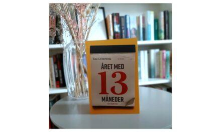 """""""Året med 13 måneder"""" af Åsa Linderborg"""