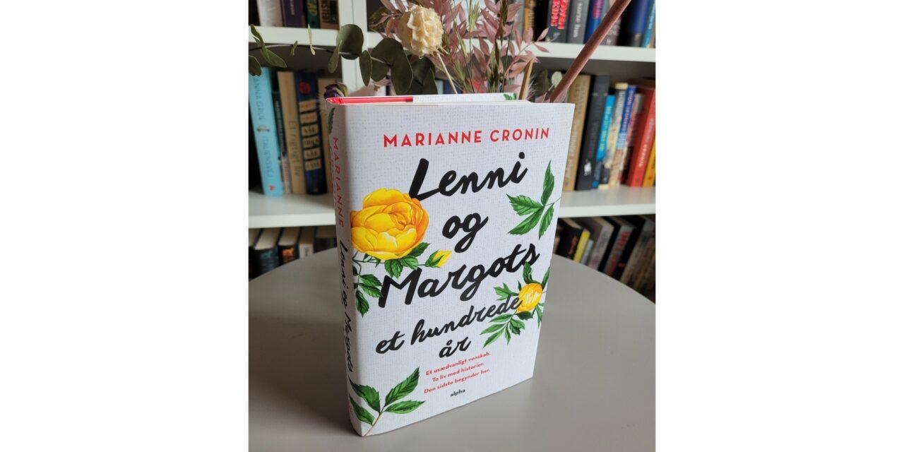 """""""Lenni og Margots et hundrede år"""" af Marianne Cronin"""