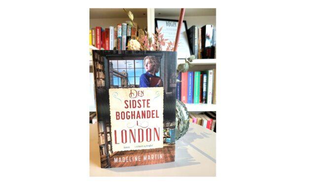 """""""Den sidste boghandel i London"""" af Madeline Martin"""